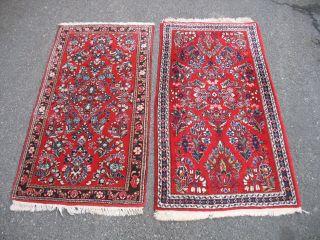 2 Alte Sarughs Aus Persien Ein Preis Ca,  128 X 65 Cm 1.  - Bild