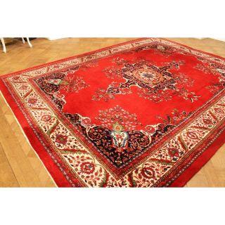 Prachtvoller Handgeknüpfter Kaschmir Orientteppich Tappeto Carpet Rug 250x340cm Bild
