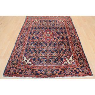 Semi Antiker Handgeknüpfter Perser Orientteppich Malayer Carpet 140x210cm 231 Bild