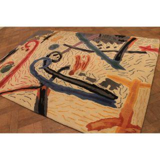 Einmaliger Handgetupfter Designer Teppich Unikat Bilder Orientteppich Carpet Rug Bild