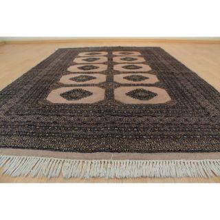 Prachtvoller Handgeknüpfter Orientteppich Buchara Yomut Tapis 130x200cm Rug 229 Bild