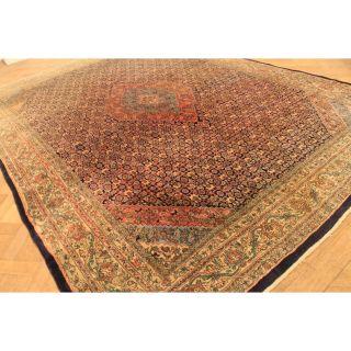 Schöner Alter Handgeknüpfter Perser Orient Palast Bid Kurde Tappeto 280x380cm Bild