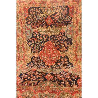 Einzigartiger Feiner Handgeknüpfter Orient Perser Teppich Lebensbaum 145x230cm Bild