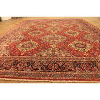 Feiner Antiker Handgeknüpfter Perser Orient Palast Teppich Korkwolle 230x310cm Bild