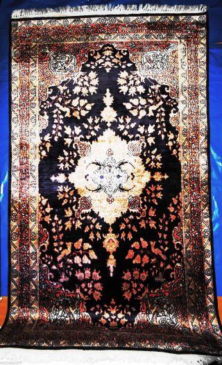 Echte Handgeknüpfte Kaschmir Seideteppich.  Top /ware Tappeto - Tapies - Rug,  Silk Bild