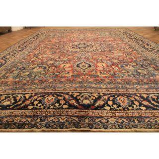 Prachtvoller Selten Schöner Antiker Handgeknüpfter Perser Orient Palast Teppich Bild