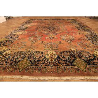 Prachtvoller Handgeknüpfter Orient Palast Teppich Kaschmir Blumen Rug 240x370cm Bild