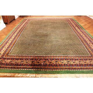 Königlicher Handgeknüpfter Orient Palast Teppich Sa Rug Mir 310x410cm Carpet Bild