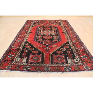 Schöner Alter Handgeknüpfter Perser Orientteppich Malayer 130x190cm Tappeto 225 Bild