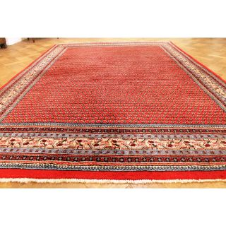 Königlicher Hochwertiger Handgeknüpfter Perser Palast Teppich Mir Rug 221x330cm Bild