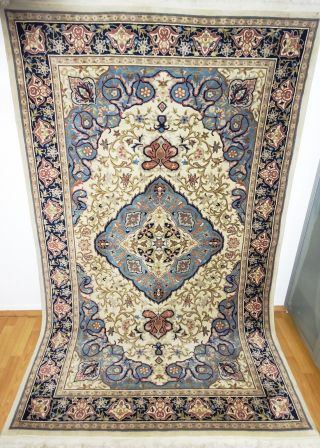 Königlicher Handgeknüpfter China Palast Teppich Rug Tappeto Tapies, Bild