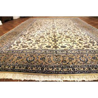 Königlicher Handgeknüpfter Perser Orientteppich Kaschmir N@in Seide 250x400cm Bild
