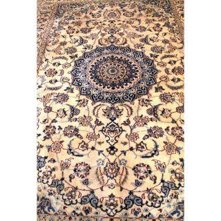 Wunderschöner Handgeknüpfter Dekorativer Orientteppich Blumen Teppich 210x300cm Bild