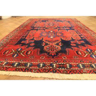 Fantastischer Alter Handgeknüpfter Orient Perser Teppich Bachta Carpet 200x310cm Bild