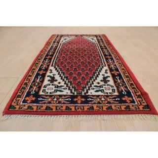 Wunderschöner Handgeknüpfter Orientteppich Mir Kaschmir Tappeto 80x160cm 221 Bild