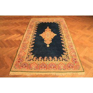 Prachtvoller Handgeknüpfter Orient Spiegel Teppich Kir Tappeto Carpet 135x255cm Bild