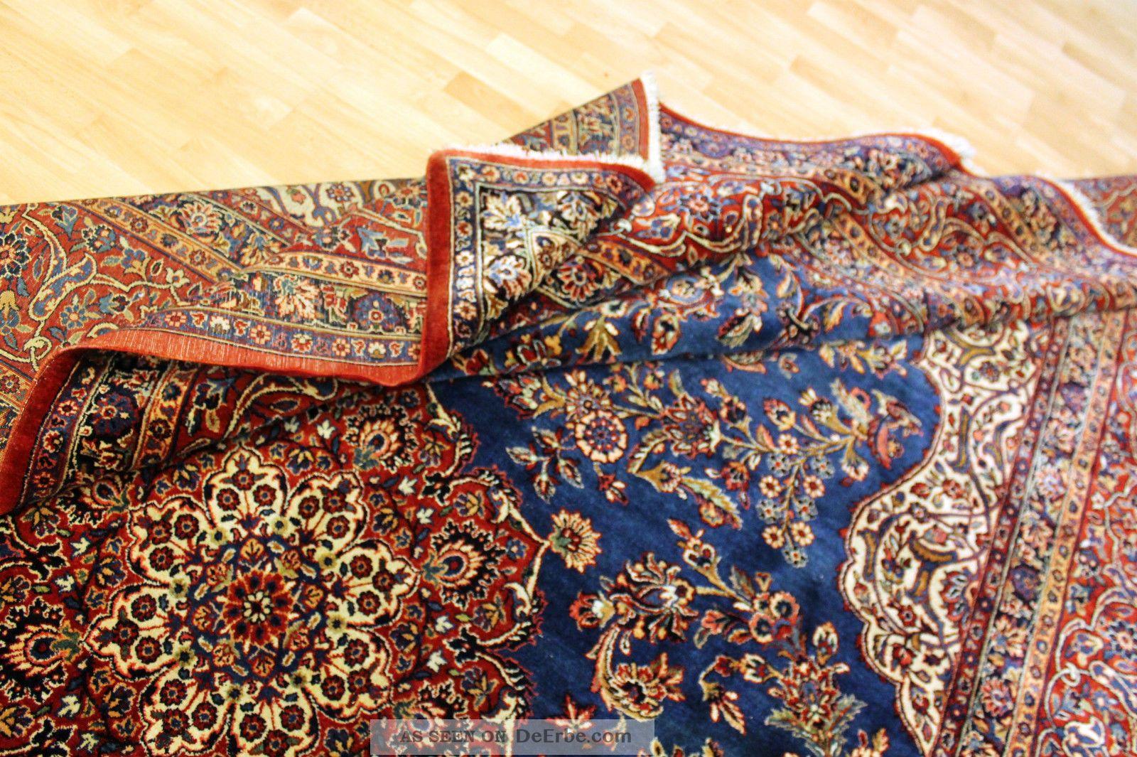 Alter Antiker Us Jugendstil Teppich 365×270  Top  Orient