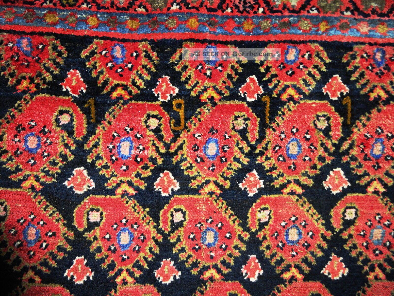 Königlicher Handgeknüpfter Antiker Palast Teppich Rug