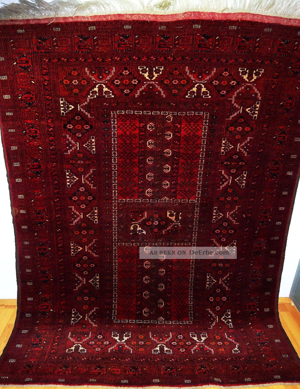 Königlicher Handgeknüpfter Afghan Palast Teppich Rug Tappeto Tapies
