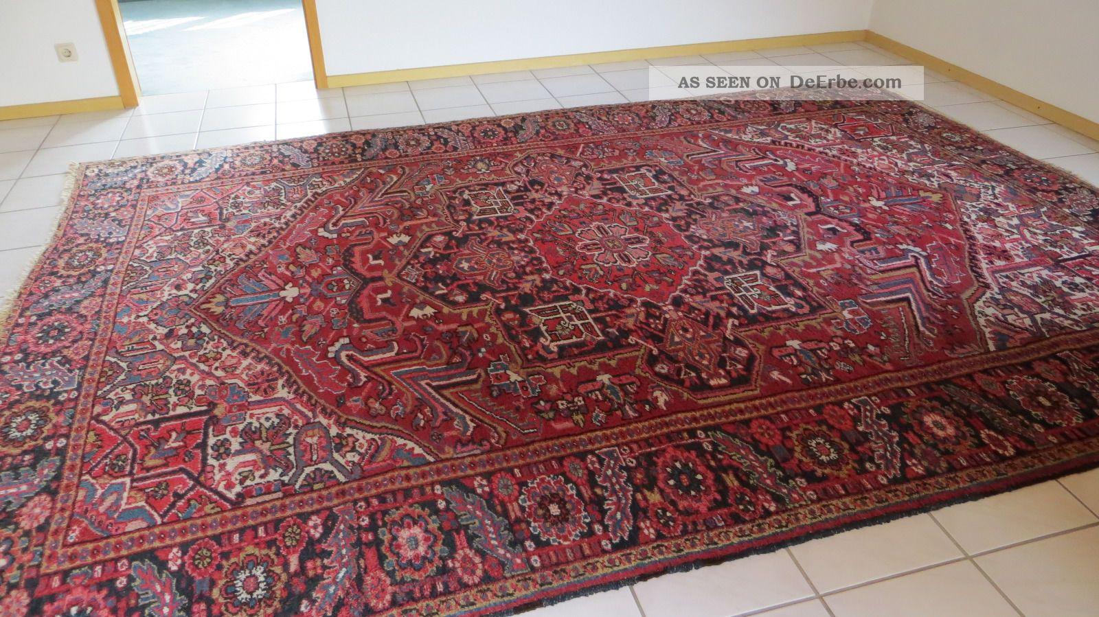 Persischer teppich  Echter Alter Persischer Teppich