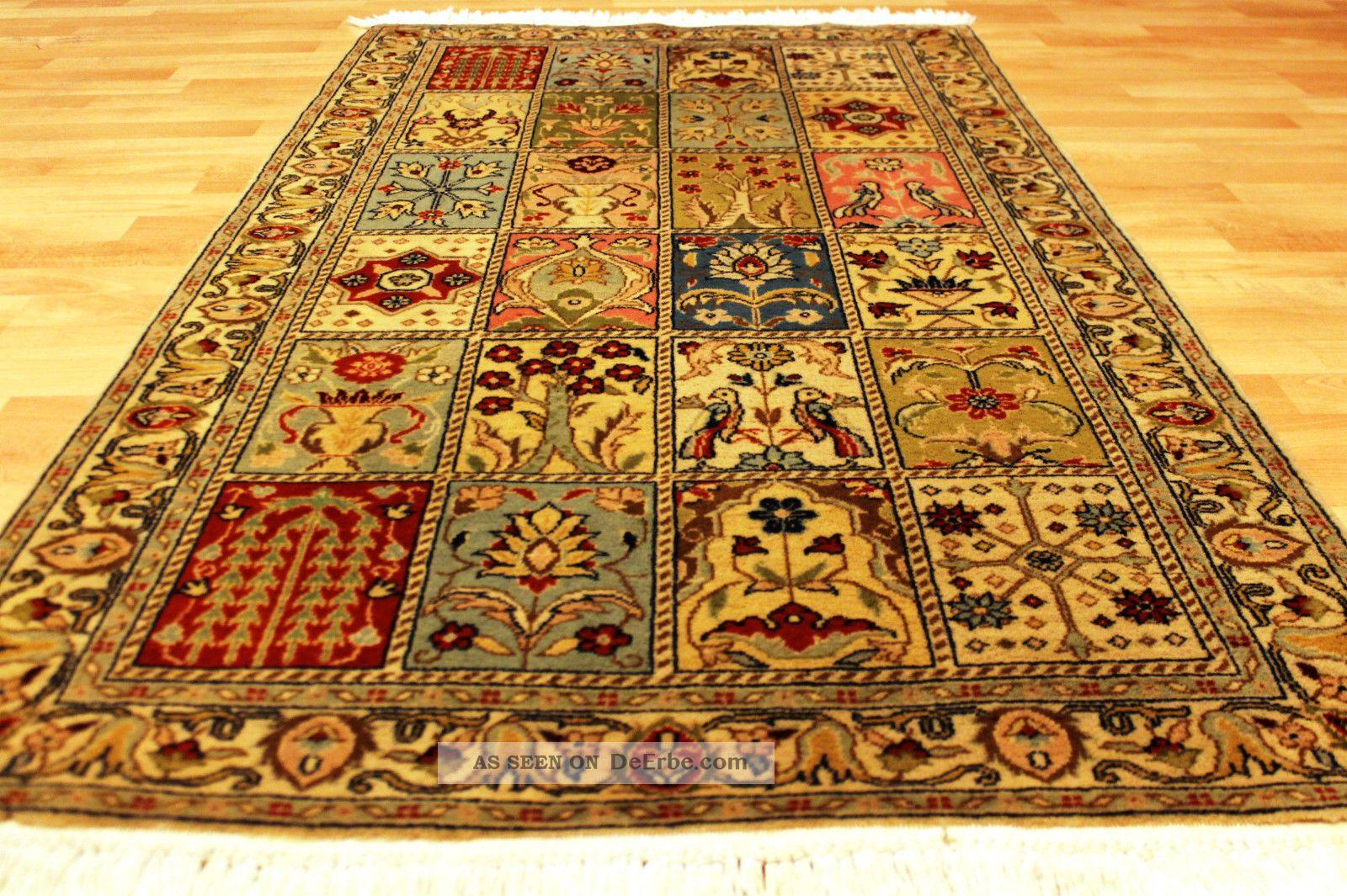 alter felder bilder garten teppich 165x92cm orient top tappeto rug 3542. Black Bedroom Furniture Sets. Home Design Ideas