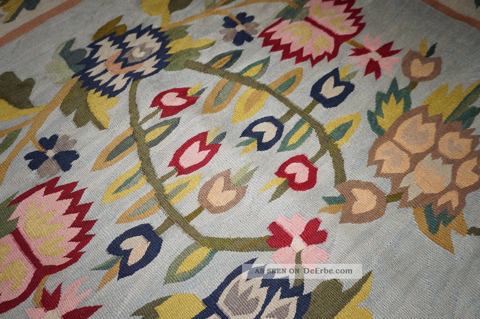 Russische Teppiche echter antiker russischer kelim ca 193 x 132 cm kilim teppich