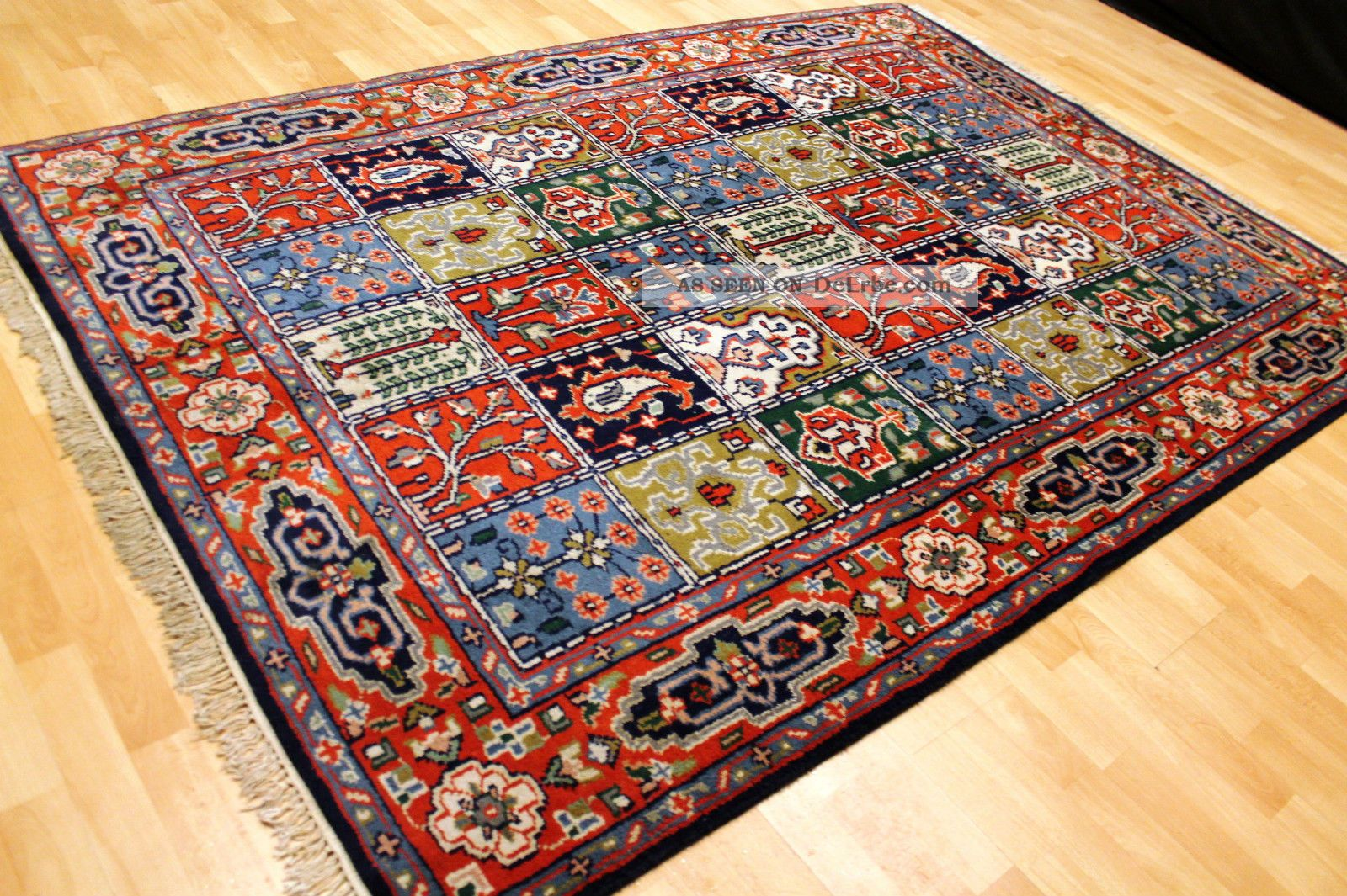 alter felder bilder garten bachtiar 240x170cm orient teppich tappeto rug 3506. Black Bedroom Furniture Sets. Home Design Ideas
