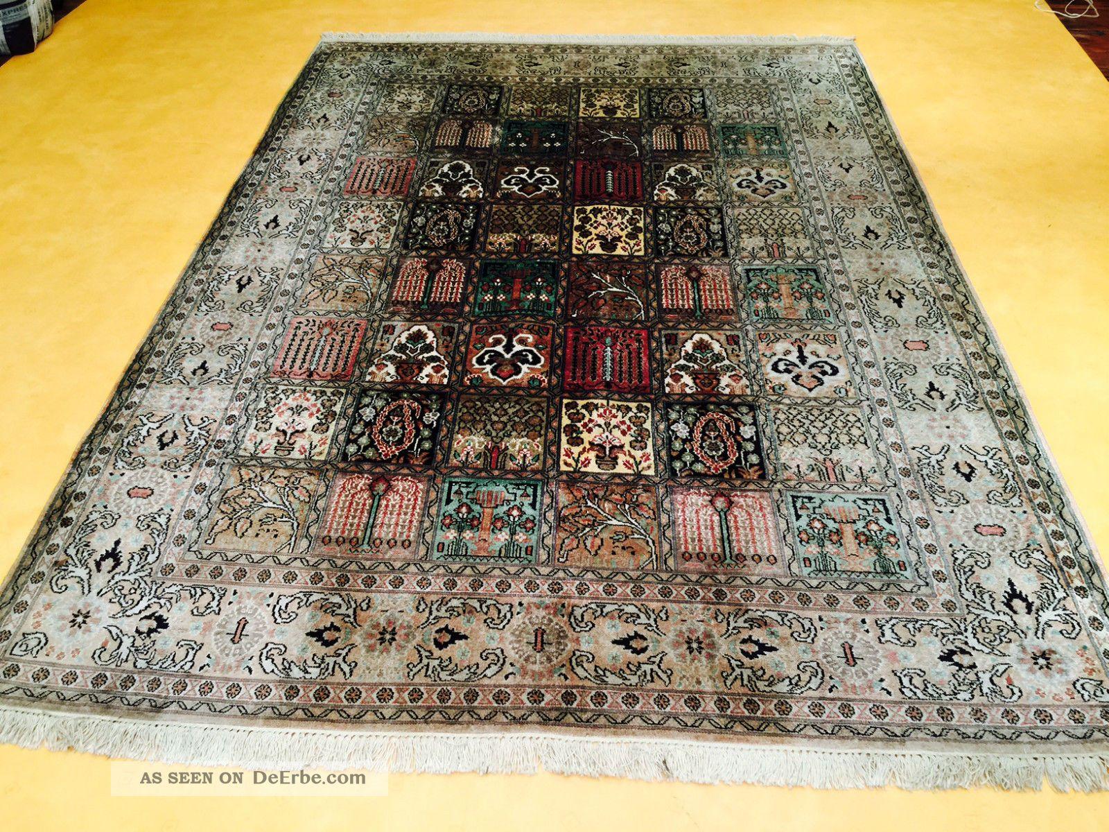 Seidenteppich  Teppiche & Flachgewebe - Persische Teppiche - Antiquitäten