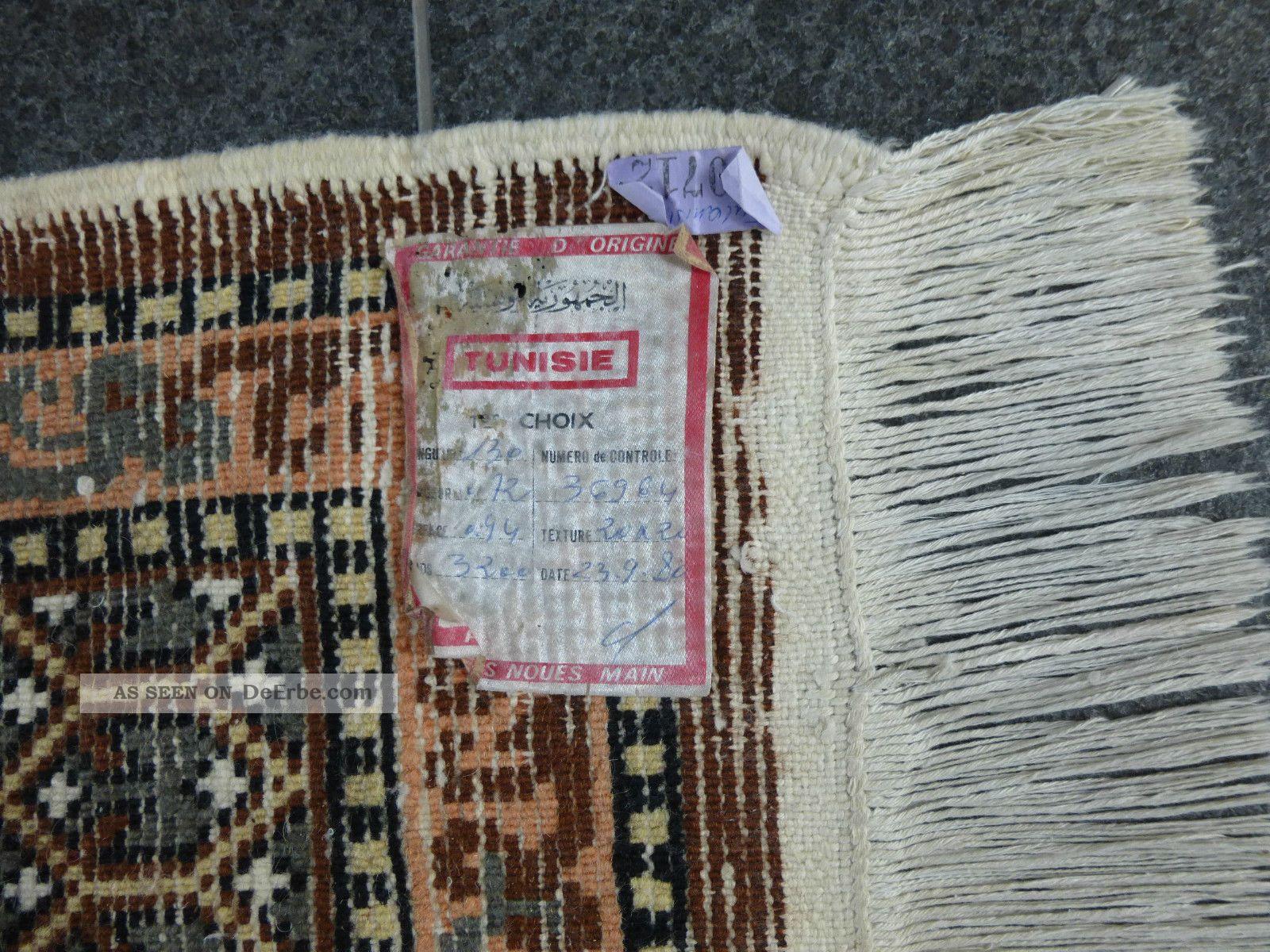 Tunesischer Teppich Handarbeit Erste Wahl  1er Choix 130