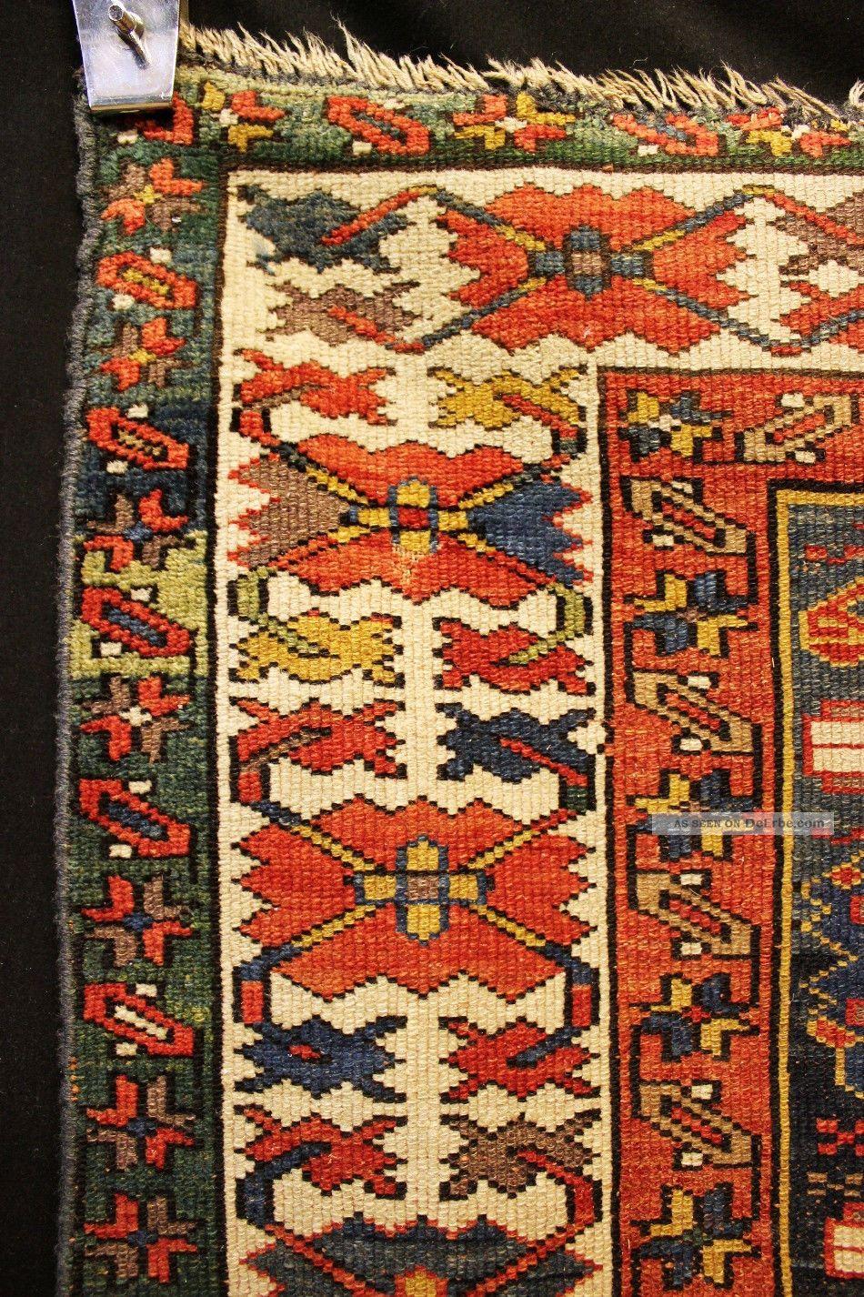 100 Jahre Antiker Shirvan Kazak Kuba LÄufer Kasak Teppich