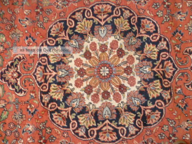 orientteppich keshan indien teppich wollteppich 240 x 355 cm erbe. Black Bedroom Furniture Sets. Home Design Ideas