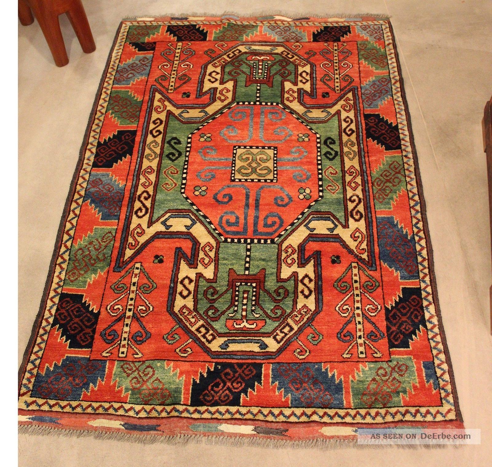 Antiker Teppich Tschapbaft Afghan 1 62 X 1 18 M Wolle