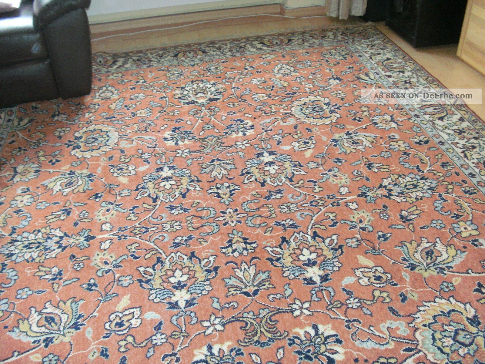 schurwolle orient teppich kronenteppich senneh rostt ne 2 50 m x 3 50 m. Black Bedroom Furniture Sets. Home Design Ideas