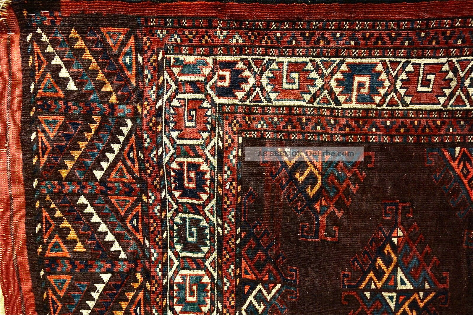 Antike Yomud Teppich  Old (yomud) Carpet