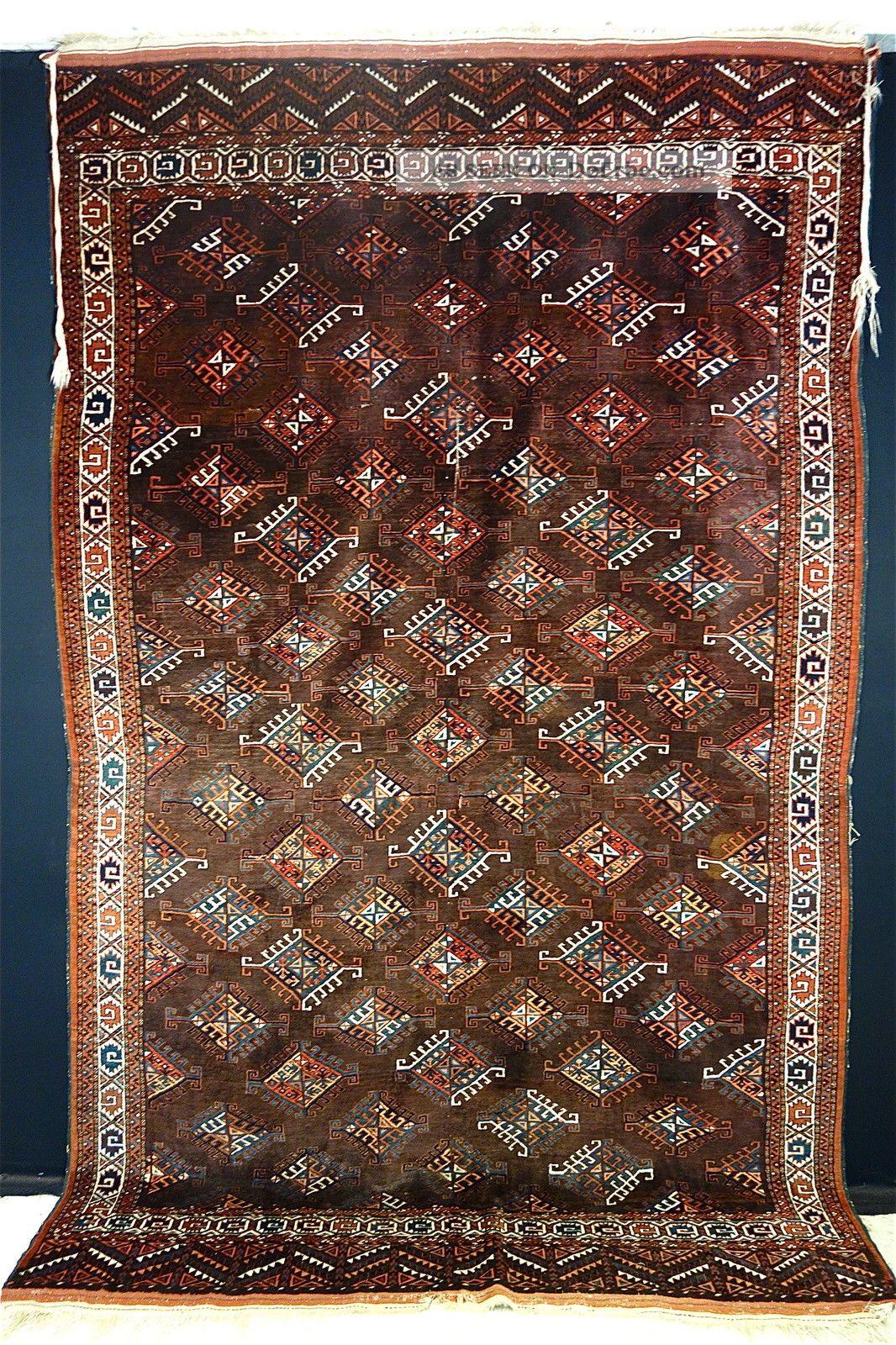 Antike Yomud Teppich Old Yomud Carpet
