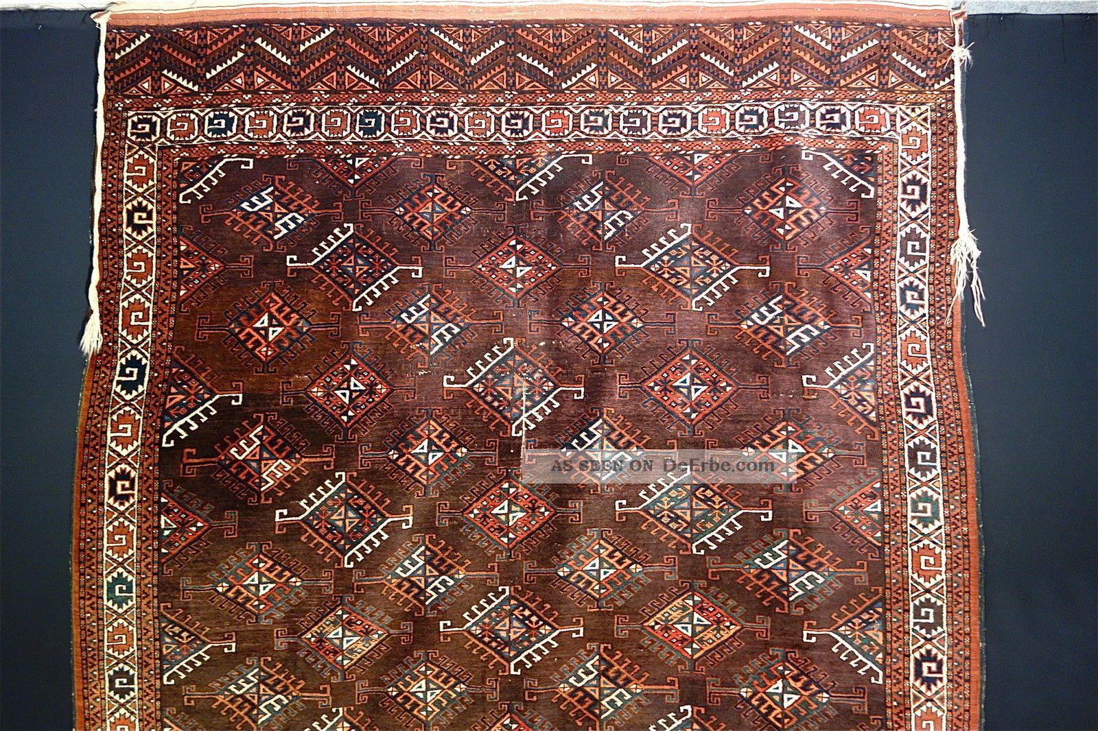 Antike Yomud Teppich  Old (yomud) Carpet