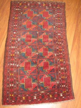 Antiker Perserteppich Belutsch / Balouchi 130 X 74 Cm Antique Rug,  Alfombra - 118 Bild