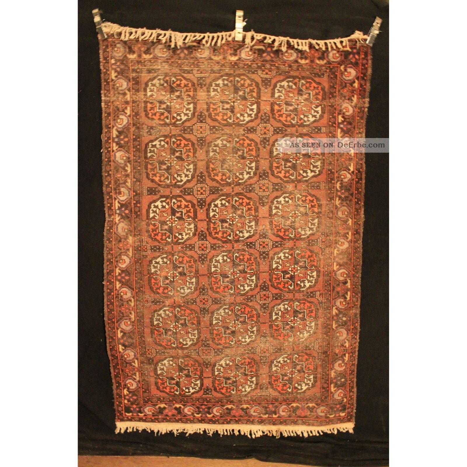 antik alter handgekn pfter orientteppich afghan art deco. Black Bedroom Furniture Sets. Home Design Ideas