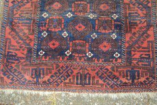 Antiker Turkmenische Teppich Um 1900 160 X 90cm Bild