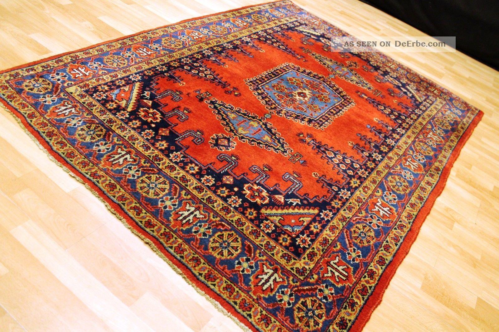 Alter Antiker Wiss 225×160 Cm Heriz Orient Teppich Galerie
