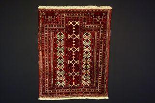 Antike Teppich Old (yomud) Carpet Bild
