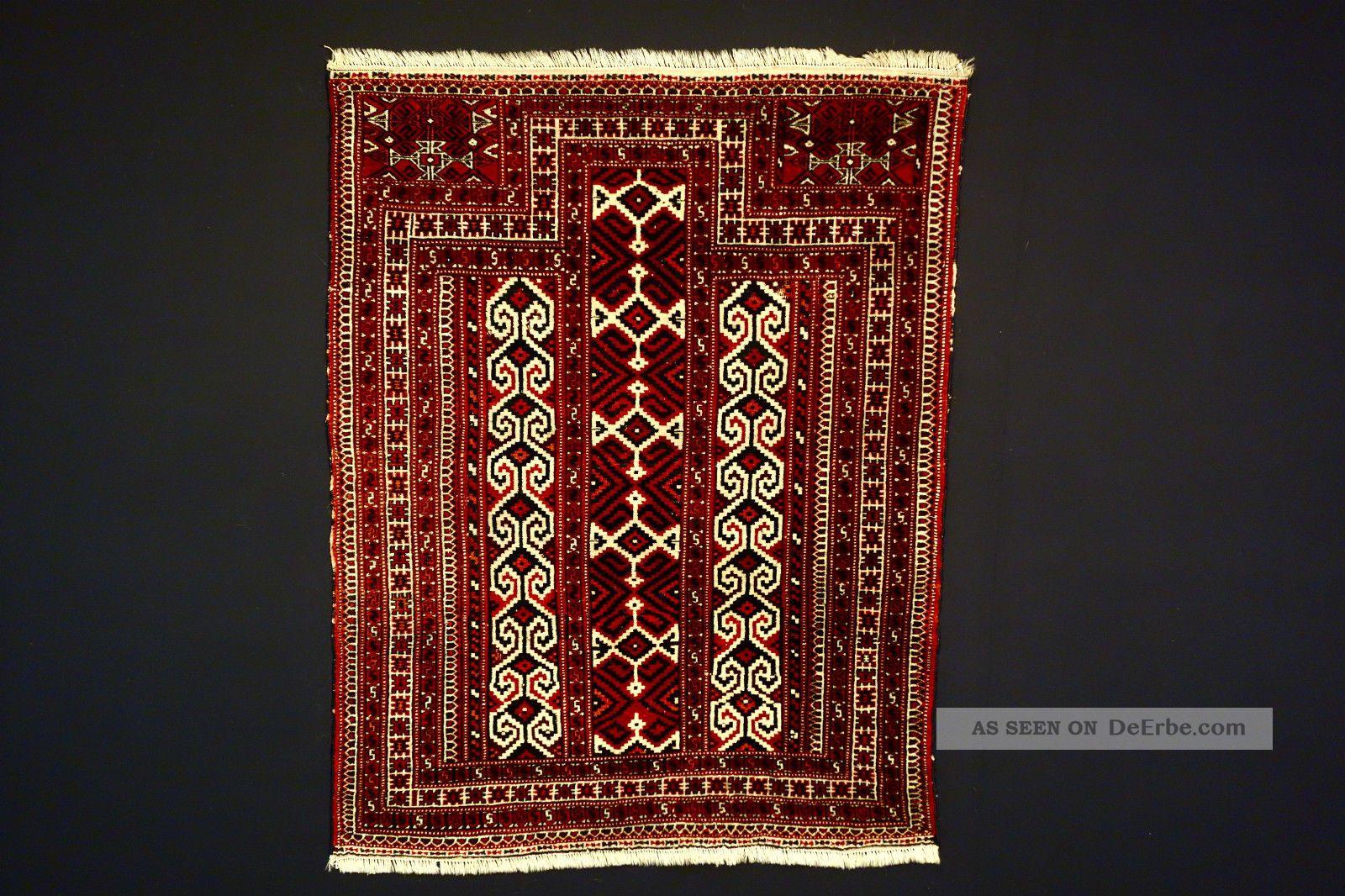 Antike Teppich Old Yomud Carpet