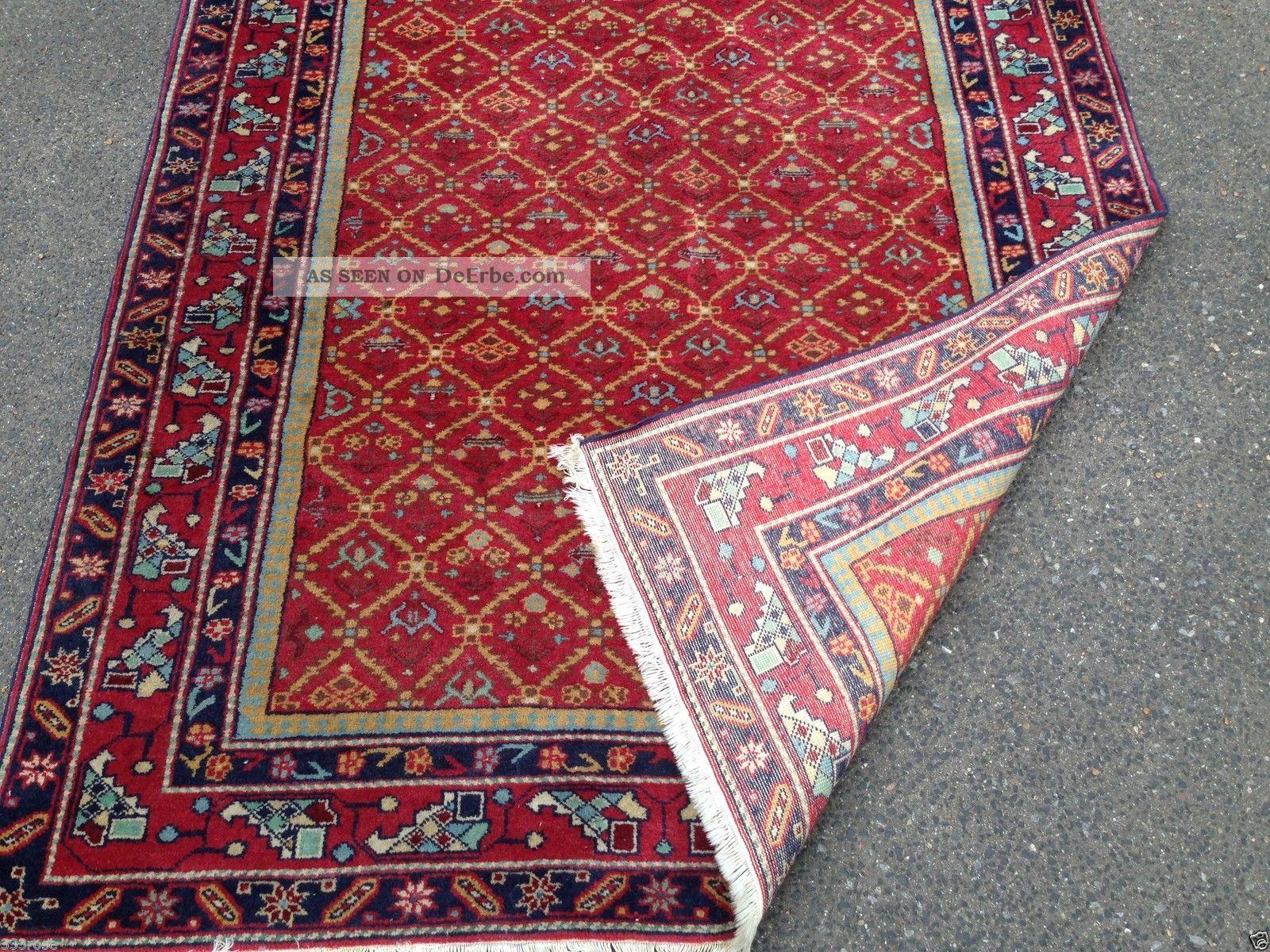teppich handgekn pft belutch kazak kaukasisch 186x120 cm carpet tappeto tapis. Black Bedroom Furniture Sets. Home Design Ideas