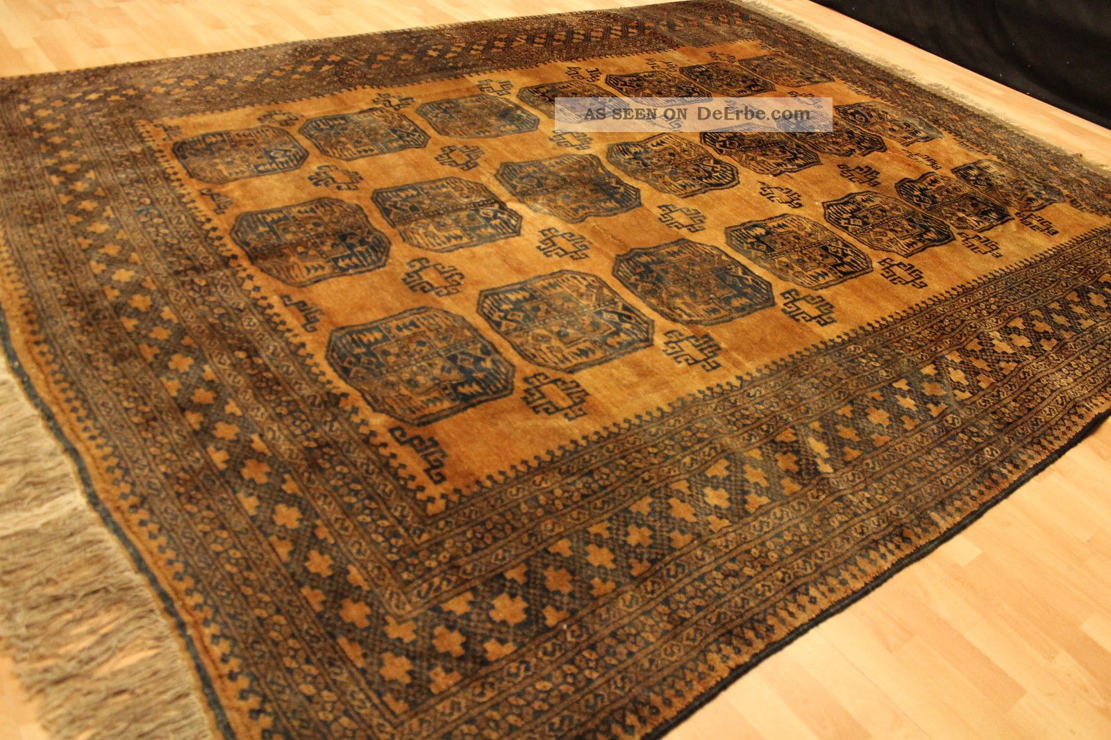 alter gold afghan buchara 320x245cm orient teppich carpet. Black Bedroom Furniture Sets. Home Design Ideas