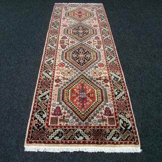 Orient Teppich Läufer Kaschmir Beige 220 X 76 Cm Kashmir Rug Carpet Runner Tapis Bild