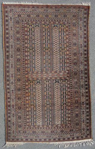 Feiner Alter Belutsch Evtl.  Timuri 199 X 124 Ca.  80 Jahre Alt Bild