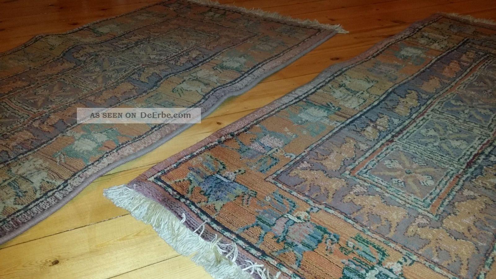 2 x gabiro teppich nomadenteppich design altrosa t ne. Black Bedroom Furniture Sets. Home Design Ideas