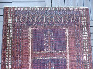 Antikerturkmenische Saryk Hatschluteppich W/w19jh Maße140x130cm Bild