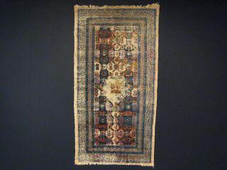 Antike Khotan (seide) Teppich Bild