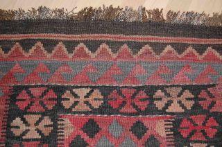 Maimana Kelim Gewebt Teppich Wolle Naturfaser 185x95cm Orientteppich Afghanistan Bild